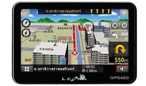 Leona แนะนำ GPS รุ่นล่าสุด Leona 420