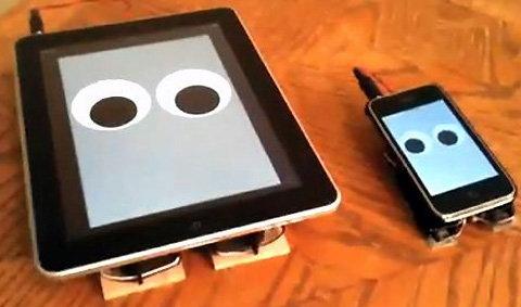 ตะลึง!!! iPad และ iPhone เดินเล่นเต้นได้