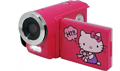กล้องวิดีโอ Hello Kitty สำหรับเด็กๆ