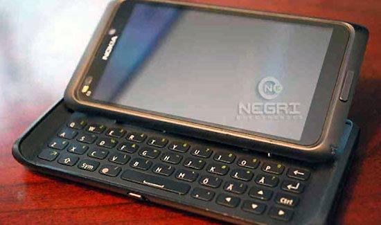 หลุดตัวเป็นๆกับ Nokia N9 หน้าจอ 3.5 นิ้ว