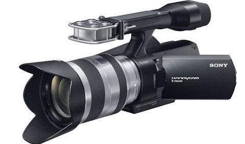 Sony NEX-VG10 แฮนดี้แคมเปลี่ยนเลนส์