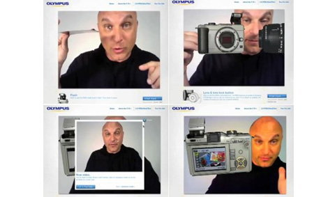ลองกล้อง Olympus ด้วยเทคโนโลยี AR