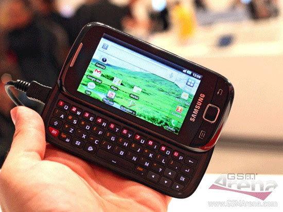 Samsung I5510 อีกหนึ่งดาวเด่นเจิดจรัสรัศมีช่วงจากงาน IFA!