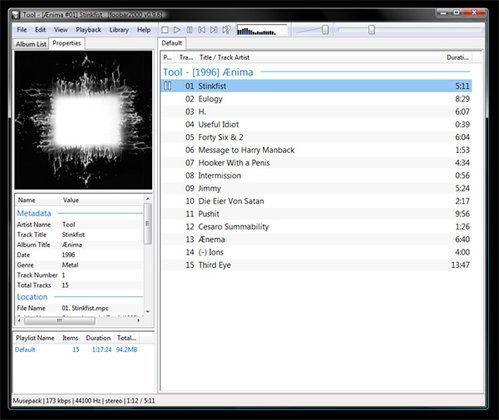 foobar2000 1.1.2 Beta 3
