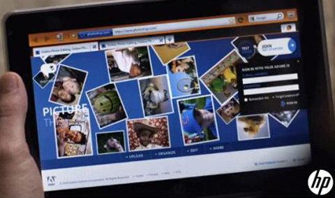 HP Slate สนับสนุน Flash ตีจุดอ่อน iPad
