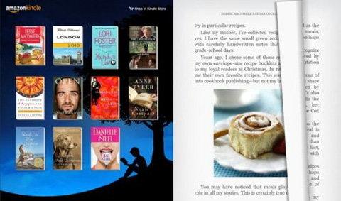 Amazon ประกาศ Kindle สำหรับ iPad