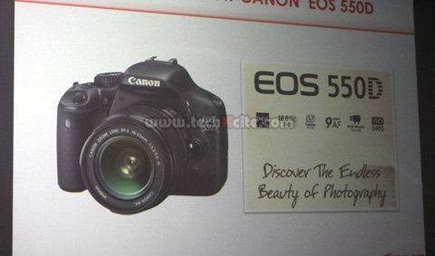 มาแว้ว....Canon EOS550D กล้องตัวเล็กที่อัดแน่นด้วยลูกเล่นที่ล้ำเกินใคร
