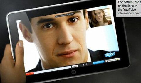 HP Slate ปล่อยข้อมูลชุดใหม่ออกมา รีบแย่งซีนกลับจาก iPad