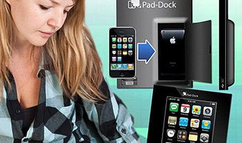 iPad Dock ทางเลือกใหม่ สำหรับคนใช้ iPhone ที่อยากใช้ iPad