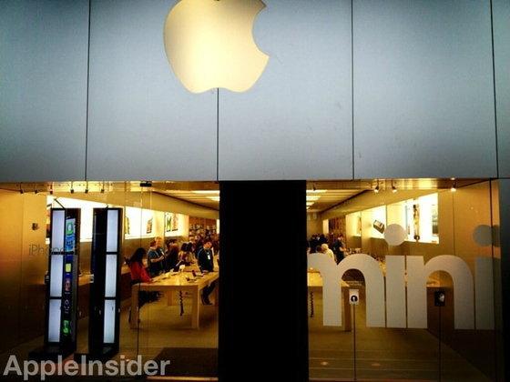 Apple Store เจอมือดีปากระจกโจรกรรมสินค้า