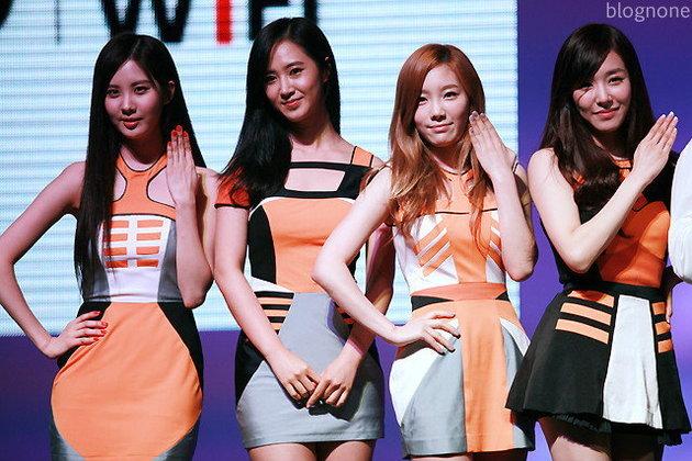 จัดกันหน่อยกับสาวๆ  Girls' Generation ที่งาน TRUE BEYOND
