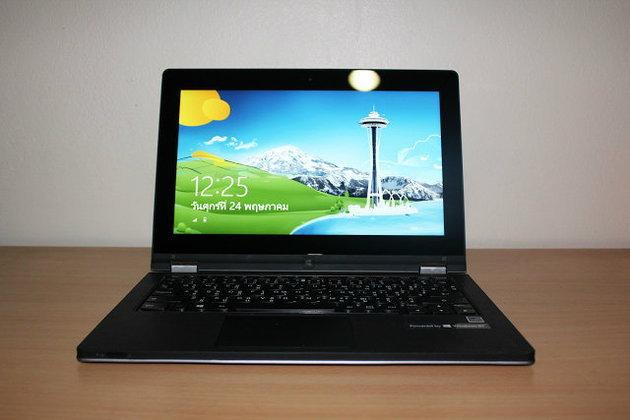 รีวิว Lenovo IdeaPad Yoga 11 อัลตร้าบุ๊คพลัง Windows RT จากเลอโนโว