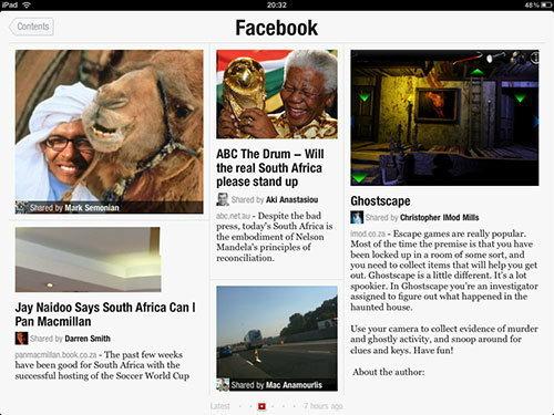 Facebook เตรียมเปิดตัวแอพบริการข่าวสาร สไตล์ Flipboard
