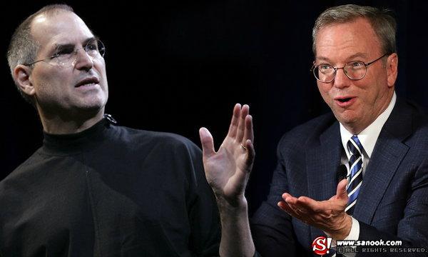 เผยอีเมล Steve Jobs, Eric Schmidt สมคบกันกดค่าแรงพนักงาน เสียหายรวมกว่าสามแสนล้าน
