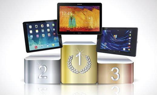 ผลทดสอบ Speed Test พบ iPad Air แรงน้อยกว่า Samsung Galaxy Note 10.1 (2014 Edition)
