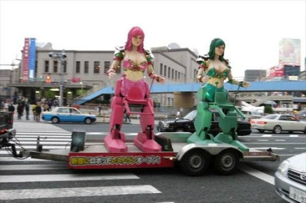 แกลลอรี่ ชมไอเดียโฆษณาบนรถโมบาย-รถบรรทุก ใครเจ๋งกว่ากัน