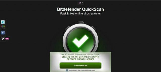 Bitdefender สแกนไวรัสออนไลน์ สะดวกใช้ ไม่เสียเงิน