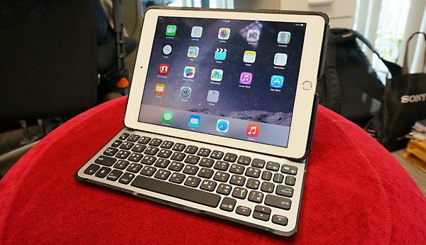 รีวิวคีย์บอร์ดเคสสำหรับ iPad Air 2 จาก Belkin