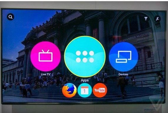 Panasonic เริ่มวางขายสมาร์ททีวีรัน Firefox OS ในยุโรปแล้ว