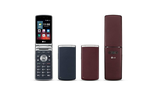 LG Wine Smart มือถือ Smart Phone ฝาพับสำหรับตลาดนอกเกาหลี
