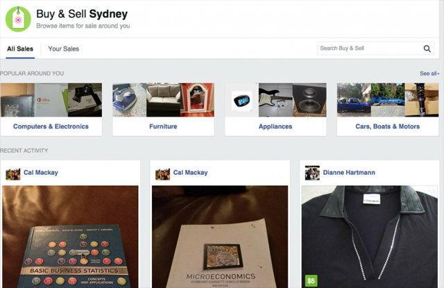 Facebook เปิดให้ทดสอบระบบ Online Marketplace