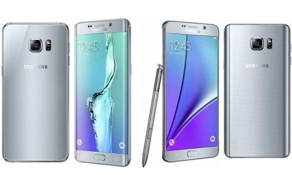เปรียบเทียบ Galaxy Note 5 VS Galaxy S6 edge+ จะแตกต่างกันอย่างไร