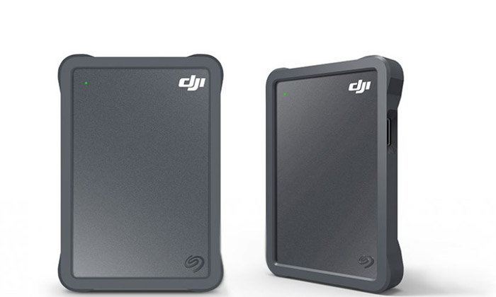 Seagate จับมือ DJI เปิดตัว Fly Drive External Hard Disk สำหรับคนที่ใช้งานโดรน