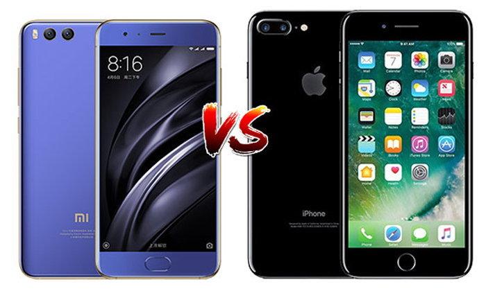 เทียบ Xiaomi Mi6 และ iPhone 7 Plus สองเรือธงกล้องคู่ (Dual-Camera) รุ่นใหม่ล่าสุด!