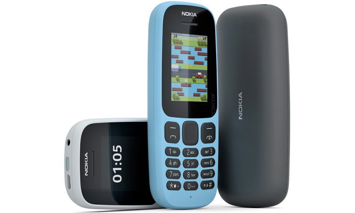 เผยโฉม  Nokia 105 (2017) และ Nokia 130 ฟีเจอร์โฟนรุ่นล่าสุด