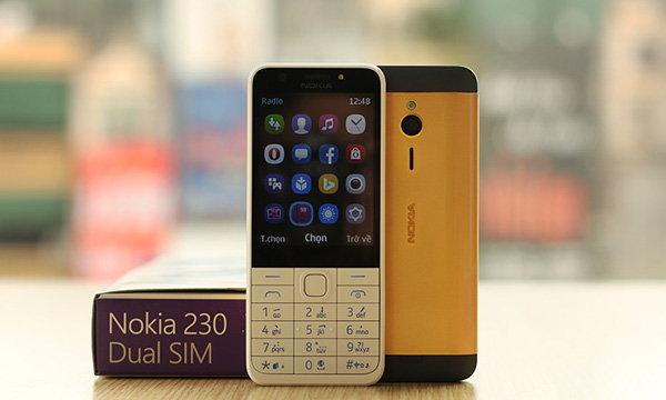 เวียดนามทำมือถือชุบทองให้กับ Nokia 230 มือถือฟีเจอร์โฟนราคาเอื้อมถึง