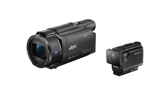 [CES2016] Sony ส่ง Handycam รุ่นท็อปและ Actioncam กันน้ำลึก