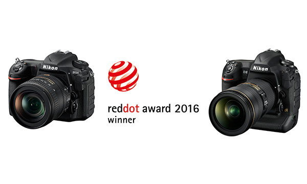 นิคอน D5 และ D500 คว้ารางวัลเรด ดอท อวอร์ด: โปรดักต์ ดีไซน์ 2016