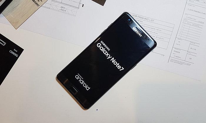 เปิดตัวอย่างเป็นทางการ Samsung Galaxy Note 7 มือถือมีปากกาที่โลกรอคอย