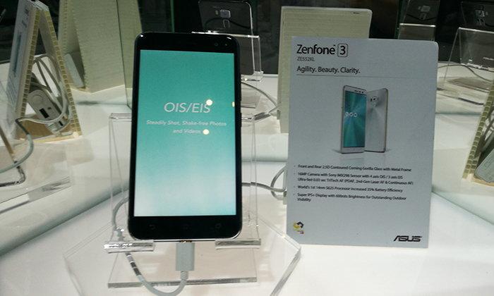 เปิดตัว ASUS Zenfone 3 ยังคงน่าใช้แม้แพงขึ้น