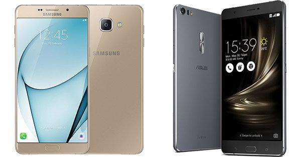 เปรียบเทียบ Galaxy A9 Pro กับ ASUS ZenFone 3 Ultra ยอดมือถือจอยักษ์แบตอึด ที่มาแรงที่สุด