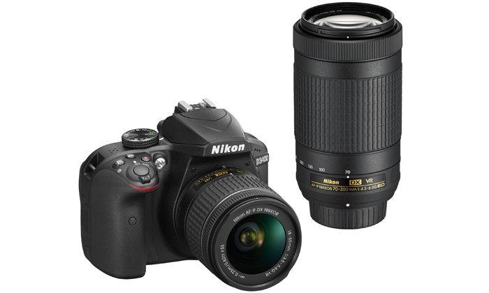 เปิดตัวนิคอน D3400 กล้อง DSLR ฟอร์แมต DX รุ่นเริ่มต้นใหม่ล่าสุด
