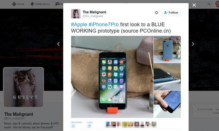 iPhone 7 Plus สีน้ำเงิน Deep Blue สวยจนเงินในกระเป๋าสั่น
