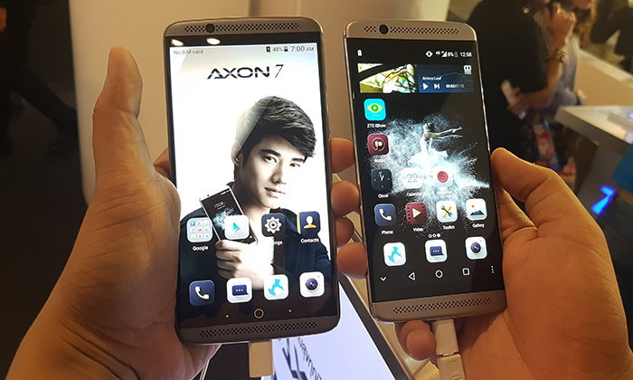 ZTE เปิดตัว Axon 7 และ Axon 7 Mini มือถือสเปคแรงจ่ายไม่หนัก