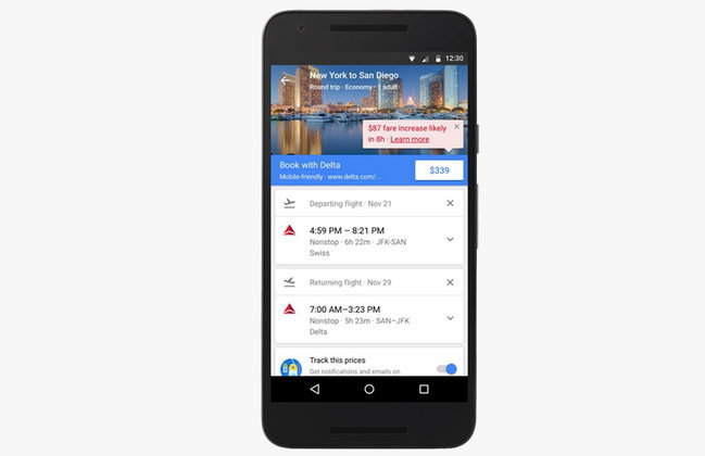 อัปเดท Google Flight ใช้ง่าย จองง่ายพร้อมฟังก์ชั่นหาเที่ยวบินราคาถูก