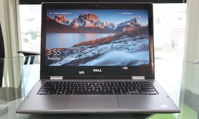 รีวิว Dell Inspiron 5368 2 in 1 Notebook ปรับเปลี่ยนรูปร่างได้ ที่น่าตื่นเต้นจาก Dell