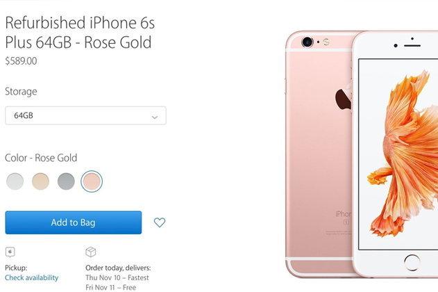 Apple เปิดขายเครื่อง iPhone รีเฟอร์บิช (Refurbished) เป็นครั้งแรก