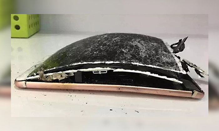 iPhone 7 Plus เรือธงรุ่นล่าสุดจาก Apple เกิดเหตุลุกไหม้ในประเทศจีน หลังเครื่องตกกระแทกพื้น