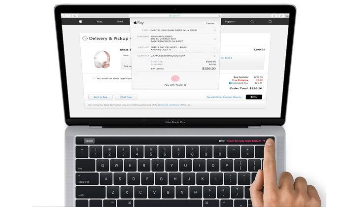 ภาพหลุด Magic Toolbar ใหม่ล่าสุดของ Macbook Pro ที่จะเปิดตัววันศุกร์นี้