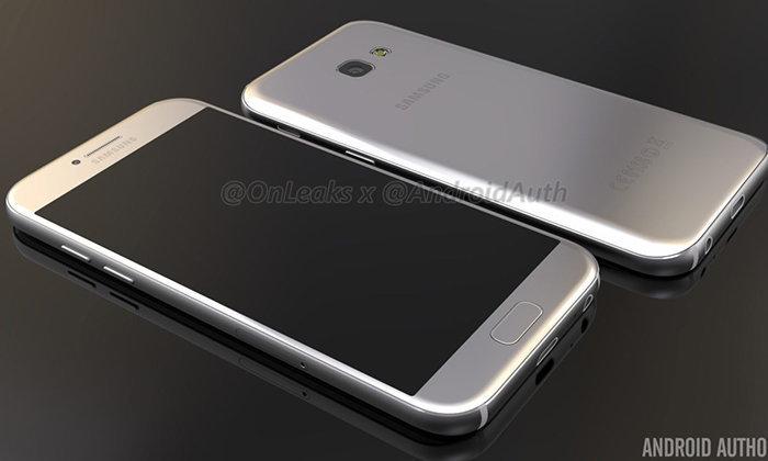 ชมภาพ Render ของ Samsung Galaxy A5 (2017) เหมือนผู้พี่ Galaxy S7