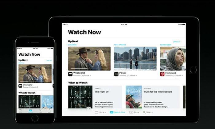 Apple เผย Apps TV ยกความสามารถของ Apple TV ให้มาอยู่ใน iPhone และ iPad