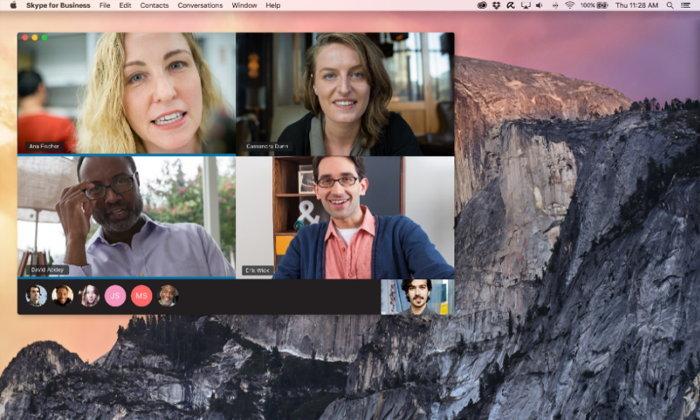 Skype for Business ออกไคลเอนท์ macOS, ปรับปรุงการใช้งานบน iOS และ Android