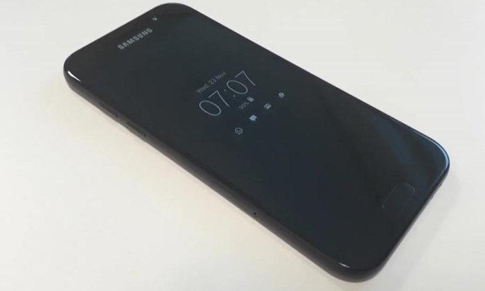 ยลโฉม Samsung Galaxy A5 (2017) ตัวทดลองประกอบ สวยจนนึกว่ารุ่นท็อป (มีคลิป)