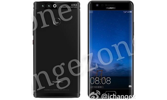 เผยภาพหลุด Huawei P10 ทั้งรุ่นจอปกติ และจอโค้ง