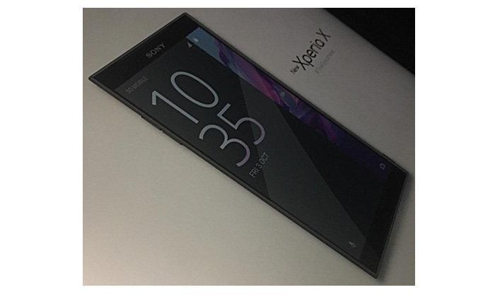 เผยภาพที่คาดว่าจะเป็น Sony New Xperia X 2017