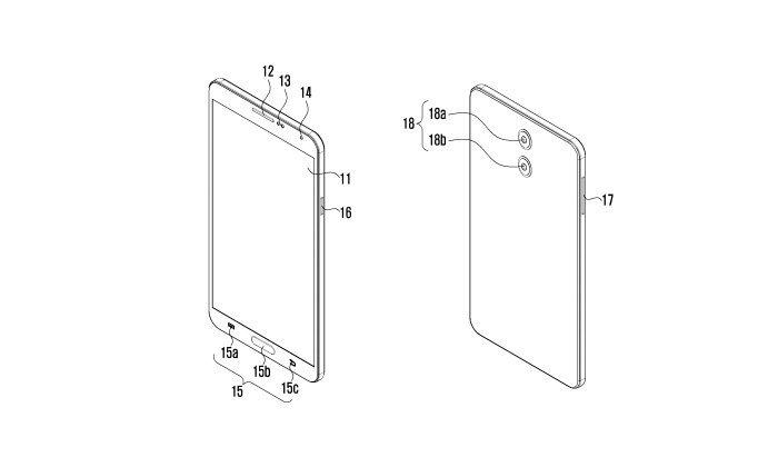 หลุดสิทธิบัตรกล้องคู่ด้านหลังของ Samsung เน้นเรื่องความบาง
